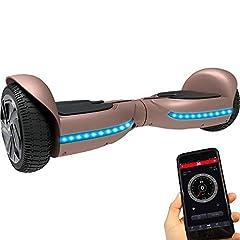 Idea Regalo - Twodots Hoverboard UL 2272 Glyboard PRO Pink, Pink, 63x24x23