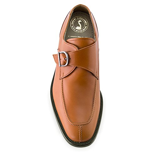 Masaltos Hauteur Des Chaussures Pour Hommes Jusqu'à 7cm. Fabriqué En Cuir Modèle Belfort Brown