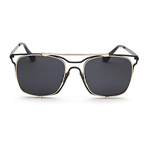 Sunbo - Lunettes de soleil - Homme Black Lens