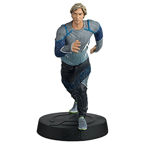 FIGURA DE RESINA MARVEL MOVIE COLLECTION Nº 35 QUICKSILVER