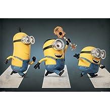 "Póster Minions ""Abbey Road"" (Kevin, Stuart & Bob) (61cm x 91,5cm)"