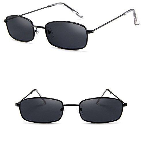 SHJIRsei Damen Vintage Brille Frauen Herren Retro Vintage Unisex Brille Square Shades Kleine Rechteckige Sonnenbrille Sport Brillenband Polarisierte für Verspiegelte Runde Unregelmäßige Gläser