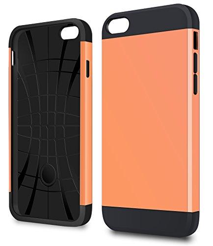 vau iPhone 6 Slim Armor - Vacant White - Hülle, Case für Apple iPhone 6 Juicy Orange