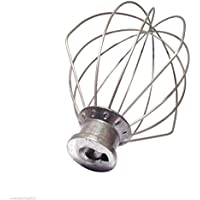 Kitchenaid K45WW - Mezclador de varilla de repuesto para batidora de alambre de 4,5 quilates No se ajusta a los mezcladores de elevación de botellas.