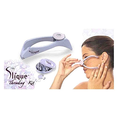 Slique Eyebrow Face and Body Hair Threading and Removal System By Almand