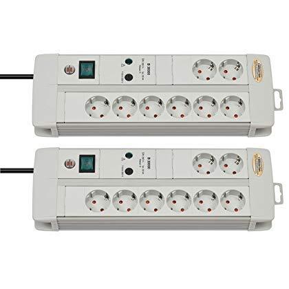 Brennenstuhl 1256550378Premium-Line 30,000a, protección contra sobretensiones y flash-Hasta...
