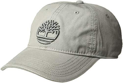 Timberland Herren Soundview Cotton Canvas Hat Kappe, grau, Einheitsgröße (Timberland Hat)