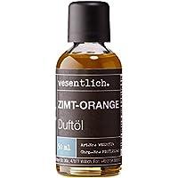 Zimt-Orange Duftöl 50ml - Premium Raumduft für Lampen und Diffuser - Wellness für die Sinne von wesentlich. preisvergleich bei billige-tabletten.eu