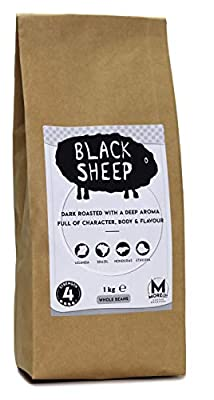 Moreish Black Sheep - Dark Roast Ground Coffee (Filter Grind) - 1kg from The Brew Group trading as Caffe Society