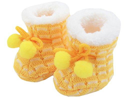 ge Mädchen Newborn Neugeborenes Schuhe Winter Puschen Socken 0-3M (Jungen Anzüge Für Billig)