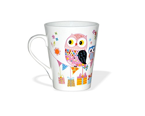 Clay Craft Zing Z343 Milk Mug, 350ml/6.0cm, Multicolour