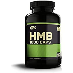 Optimum Nutrition HMB, 1000 mg, 90 Cápsulas