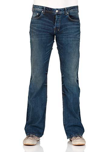 LTB Herren Jeans Tinman - Bootcut - Blue Lapis Wash, Größe:W 33 L 32