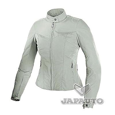 SPIDI 448 - Blouson Textile Blanc pour Femme