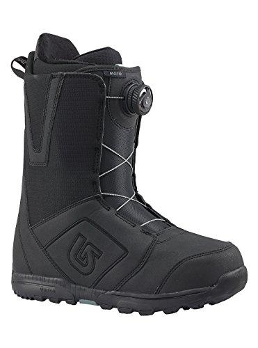 Burton Herren Moto Boa Snowboardboots, Black, 10