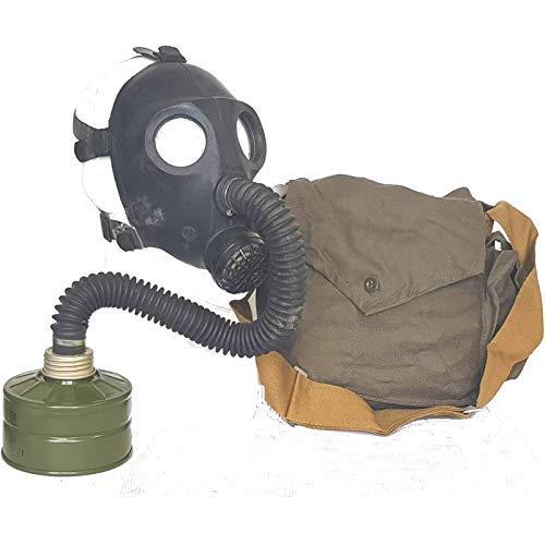 OldShop Gasmaske PDF2SH Set - Sowjetische Militär Gasmaske Replica Sammlerstück Set W/ Maske, Tasche, Filter - authentischer Look & Verschiedene Größen erhältlichS
