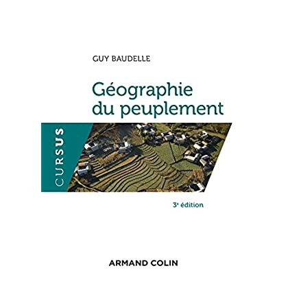 Géographie du peuplement - 3e éd.