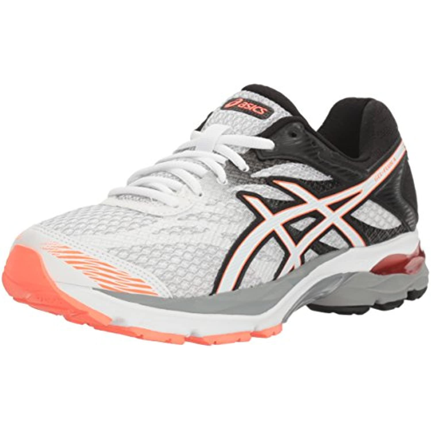 Asics WoHommes 's Gel-Flux 4 Running Shoe, - White/Snow/Flash Coral, 6.5 M US - B01GU9ZY9G - Shoe, 364fdf