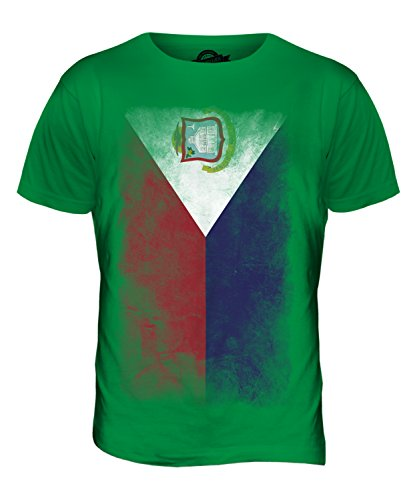 CandyMix St. Martin Verblichen Flagge Herren T Shirt Grün