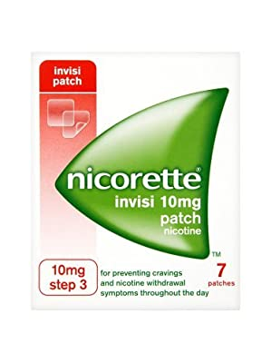 Nicorette Invisi 10mg Patch Step 3 from McNeil Products