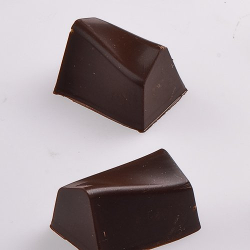 Chocolate Mold Warped Log 28x20mm x 17mm High, 28 Cavities by Martellato 28 Chocolate Mold