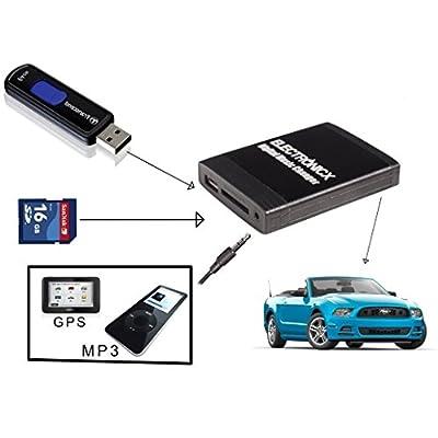 USB MP3 AUX SD CD Adapter Wechsler TOY2 - TOY small von Electronicx® auf Reifen Onlineshop