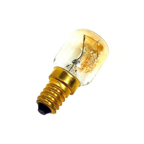 Whirlpool 481281728319 25W Kühlschrank Gefrierschrank Lampen Birne - E14