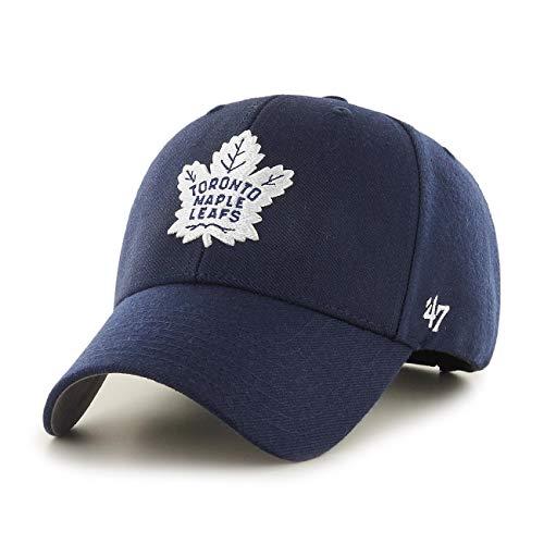 47Brand MVP Cap Toronto Maple Leafs MVP18WBV-LNA Blau, Size:ONE Size -