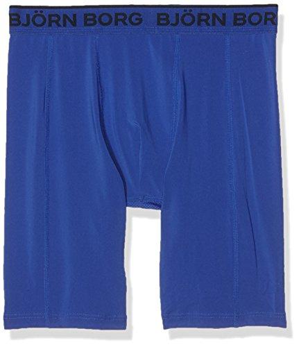 Björn Borg Performance Solid, Pantaloni Sportivi Uomo Blue (Dazzling Blue)