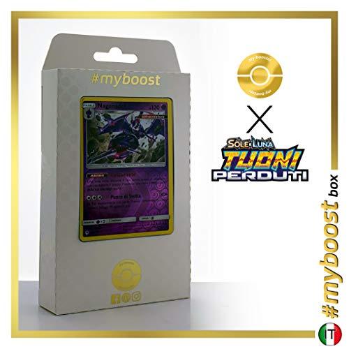 Naganadel 108/214 Holo Reverse - #myboost X Sole E Luna 8 Tuoni Perduti Box de 10 Cartas Pokémon Italiano