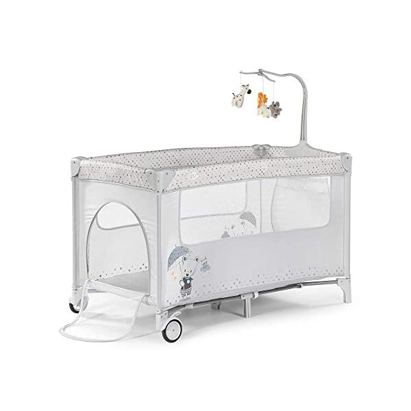 Complete Plus Travel Crib - MS Innovations Grey Innovaciones MS Bedroom Innovations MS Unisex Children's Children's Children's Travel Cots Cots/Parks Full Plus Pink (630223) 2