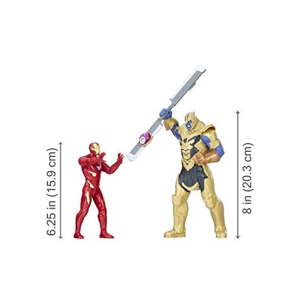 Marvel Avengers- Iron Man Vs. Thanos Set de Combate (Hasbro E0559105) 4