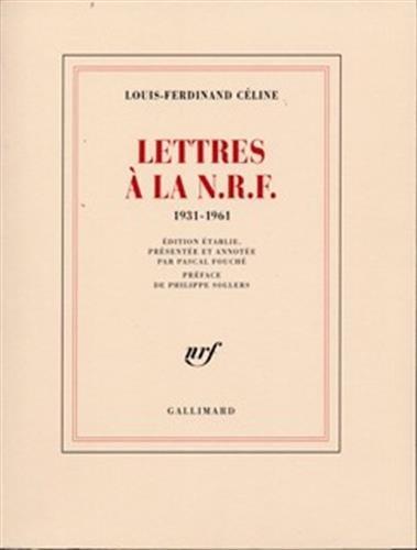 Lettres La N R F 1931 1961 [Pdf/ePub] eBook