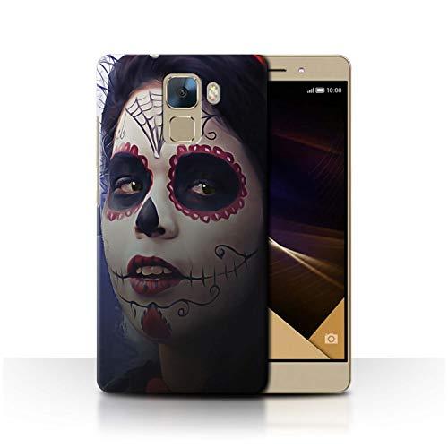 für Huawei Honor 7 / Halloween Bilden Muster/Tag Der Toten Festival Kollektion ()
