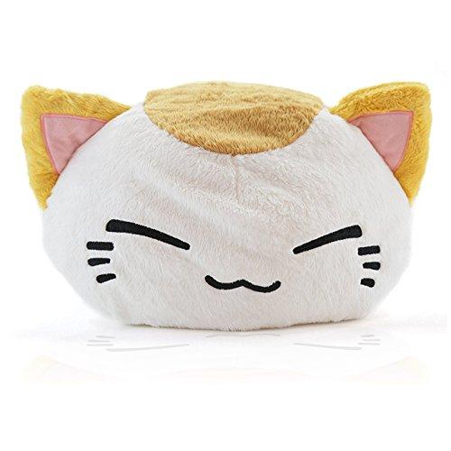 leepy Cat Plüsch weißbraun NEU 40 x 30 cm Plüschtier Plüschfigur Plüschi XXL Kuscheltier Katze (Disney Kostüme Für Jugendliche)