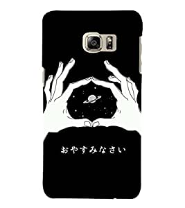 HiFi Designer Phone Back Case Cover Samsung Galaxy S6 Edge+ :: Samsung Galaxy S6 Edge Plus :: Samsung Galaxy S6 Edge+ G928G :: Samsung Galaxy S6 Edge+ G928F G928T G928A G928I ( Space Man Planet China )
