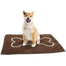 Eono by Amazon - Tappetino per cani in microfibra, rapida asciugatura, lavabile