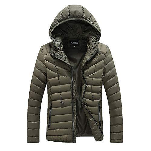 Moda abbigliamento da uomo giacca invernale cappuccio da uomo antivento imbottito cappotto con cappuccio collare eco-pelliccia addensare caldo impermeabile piumino giacca parka giubbini
