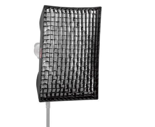 JINBEI EM 60x90 cm Grid Softbox Bowens/Walimex Blitz