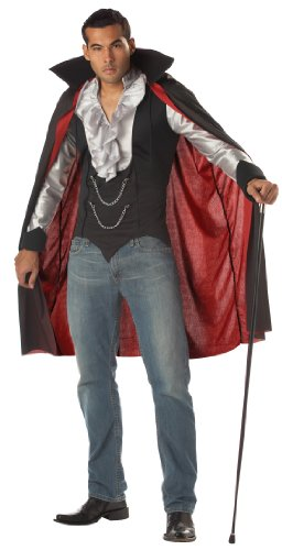 Costume halloween / carnevale da vampiro dracula fighissimo - horror uomo medium