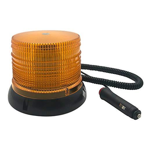 LED Strobe Light Rotating Beacon Light Amber 72 LED Warnlichter Blinklicht mit MagneticLaw Enforcement Emergency Hazard Beacon Emergency Beacon