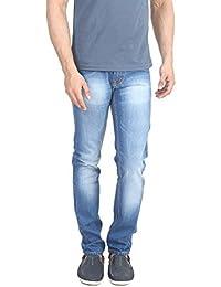 Migo Garments's Men's Denim Stretchable Jeans(Light Blue,28) - B06Y1HNHDT