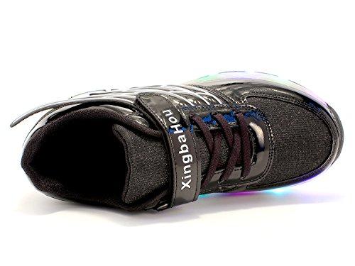 E Rolo Meninos Asa Sapatilhas Neutro Com Mr 3 De Mudança Led Calçam Luzes 7 As Kuli Rolo Cor Piscando Patim ang De Rodas Meninas Ajustável Sapatos Preto art Skate TwHZSqx4a