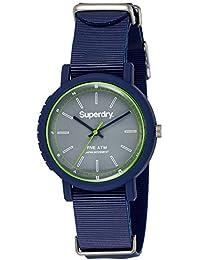 Superdry Analog Grey Dial Unisex Watch - SYG197U