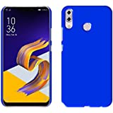 """Case Creation TM New Premium Quality Imported Exclusive Matte Rubberised Finish Frosted Hard Back Shell Case Cover Guard Protection For Asus Zenfone 5z ZS620KL / ZenFone 5 (ZE620KL) / Asus Zenfone 5Z 6.2""""inch 2018- DARK ROYAL BLUE"""
