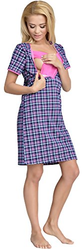 Be Mammy Stillnachthemd Linda Muster-4