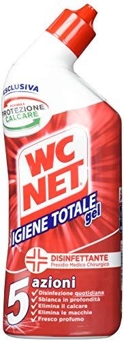 Wc Net - Pulitore Liquido, Igiene Totale Gel, 5 Azioni - 6 pezzi da 700 ml [4200 ml]