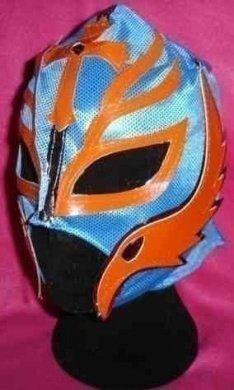Rey Mysterio Ray Farbe will Weichen ab Maske Kostüm Outfit Stil Replik WWE Wrestling REIßVERSCHLUSS KINDER ERWACHSENE NEU Party Wrestlemania geschnürt Mexikanisch Jungen WWF Gear (Wwe Erwachsene Kostüme)