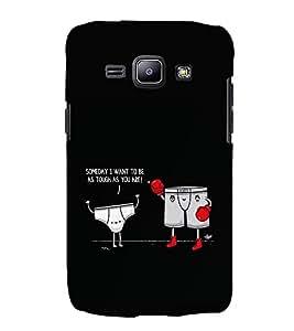 EPICCASE Boxer Case Mobile Back Case Cover For Samsung Galaxy J2 (Designer Case)