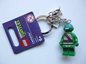 Lego Teenage Mutant Ninja Turtles Leonardo Keychain